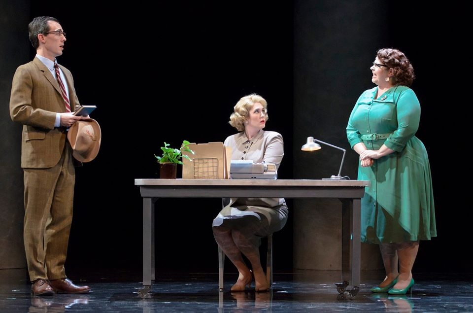 Boston Lyric Opera Fellow Travelers Chelsea Basler as Mary Johnson and Michelle Trainor as Mrs. Lightfoot Photo by Liza Voll