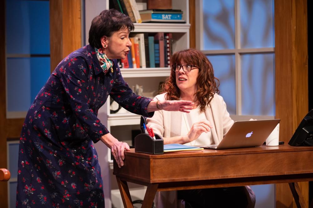 Speakeasy Stage Admissions Roberta and Sherri