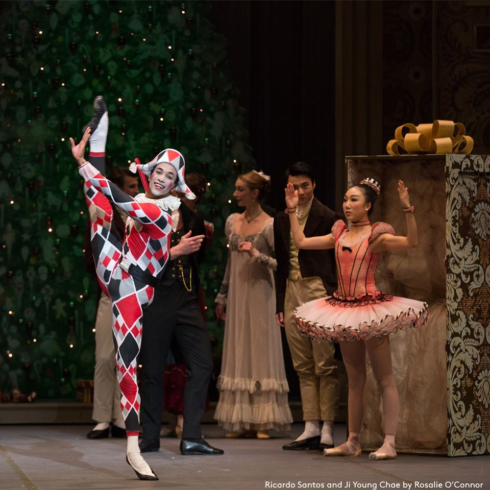 Boston Ballet Nutcracker Ricardo Santos and Ji Young Chae by Rosalie O Connor