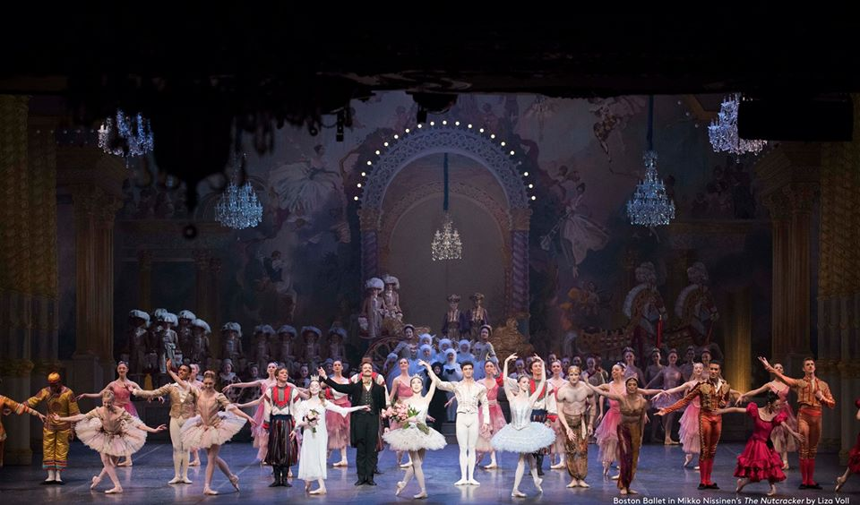 Boston Ballet The Nutcracker cast Photo by Liza Voll