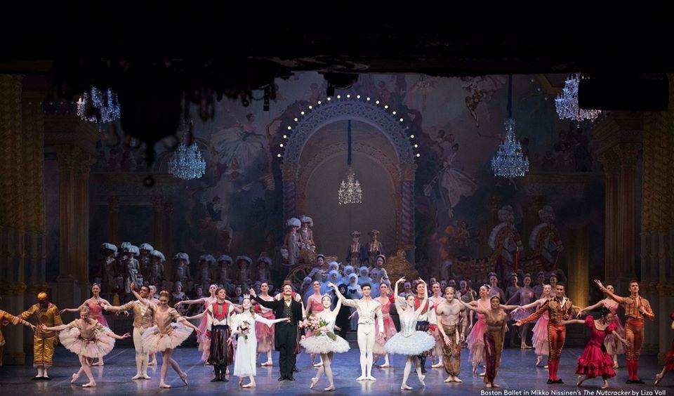 Boston Ballet The Nutcracker cast Photo by Liza Voll