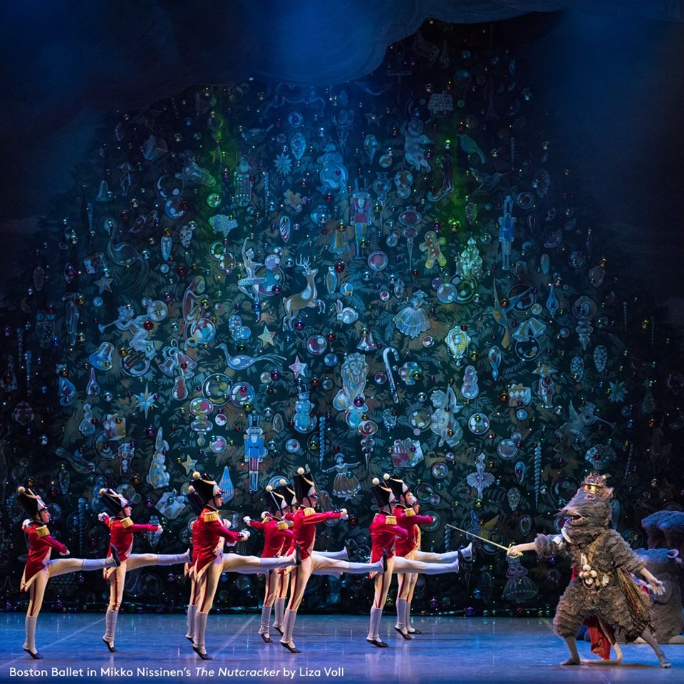 Boston Ballet 'The Nutcracker' Mouse King and Wooden Soldiers by Liza Voll