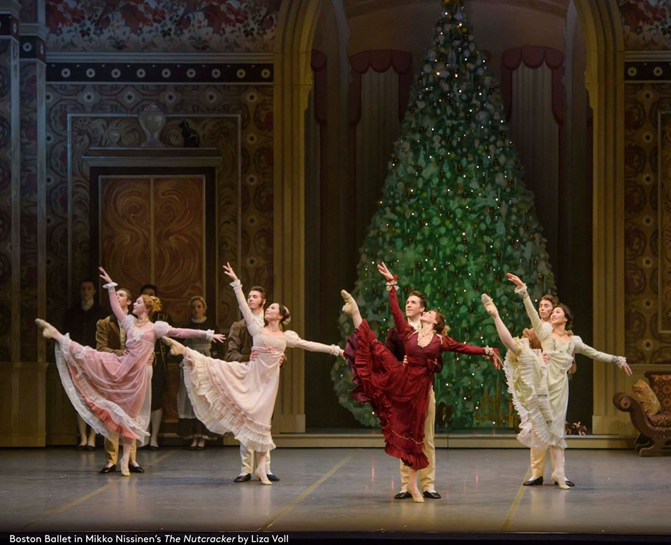 Boston Ballet The Nutcracker Party Scene by Liza Voll