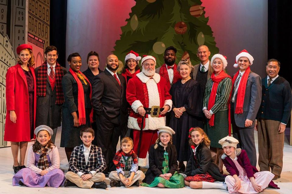 Greater Boston Stage Company Miracle on 34th Street cast