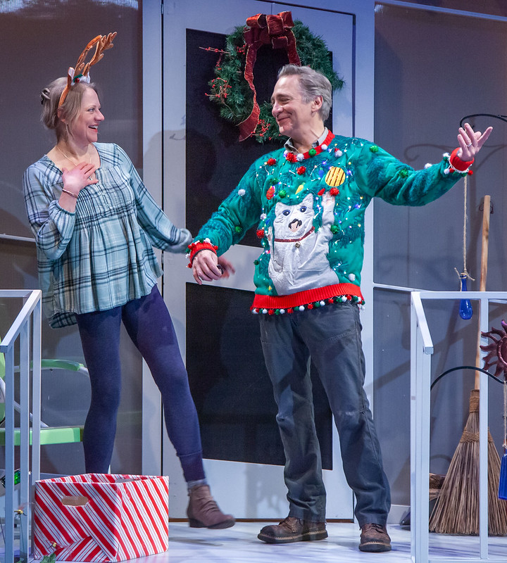 Merrimack Repertory Theatre Brazda and Adkins Christmas