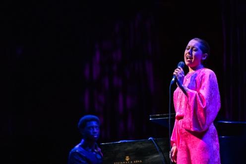 Veronica Swift and pianist Julius Rodriguez Photo credit: Robert Torres